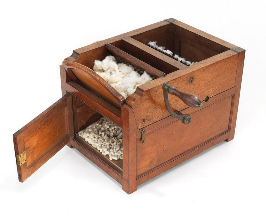 Our #BusinessHistory exhibit opens on July 1. On display will be Eli Whitney's courtroom cotton gin model. http://t.co/wk4IXMvI2E