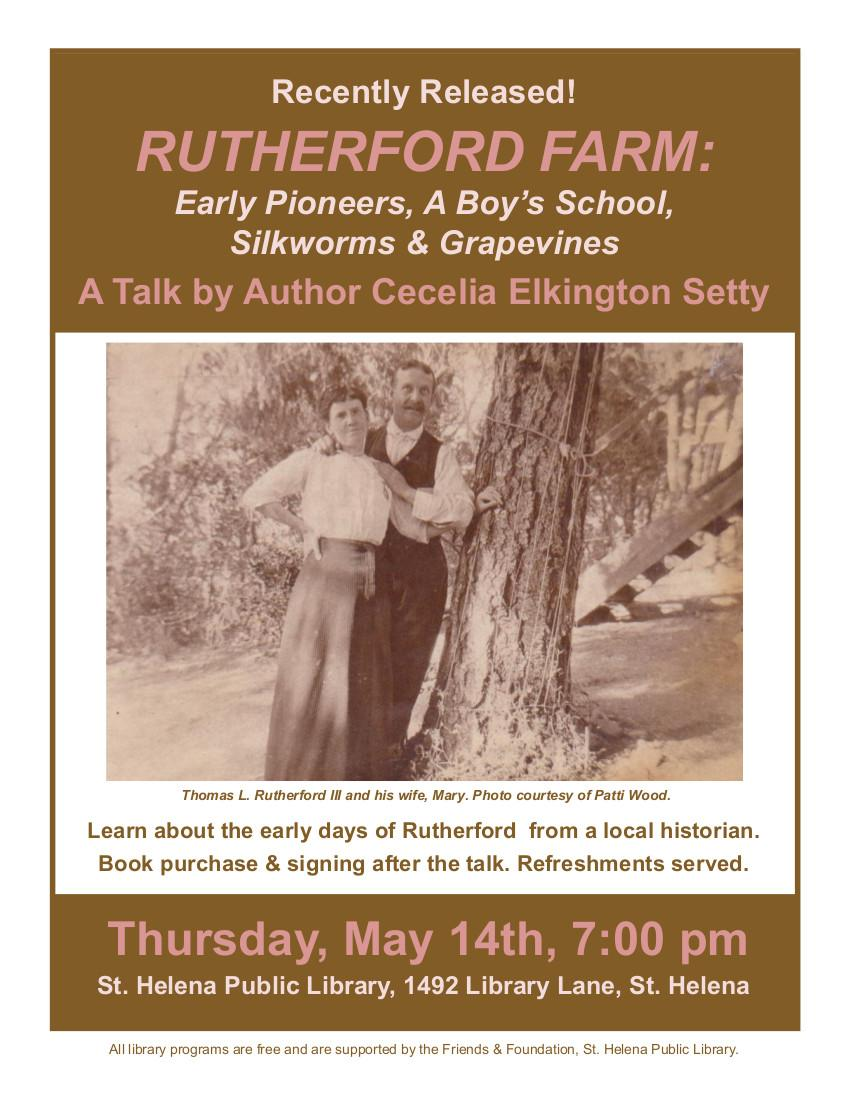 Free Talk Thursday May 14th In >> Rutherfordfarm Hashtag On Twitter