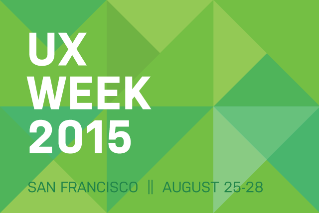 Check out these smart folks who will be speaking or teaching at #UXWeek15: http://t.co/m09EvTPJkg http://t.co/KDtFqSL1ia