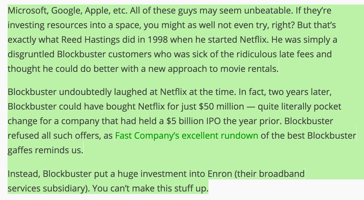 @sub8u Reminds me, Blockbuster refuses to buy Netflix for $50M. Instead invests in...Enron http://t.co/JcWC9xCpE1 http://t.co/zoD12p1yku