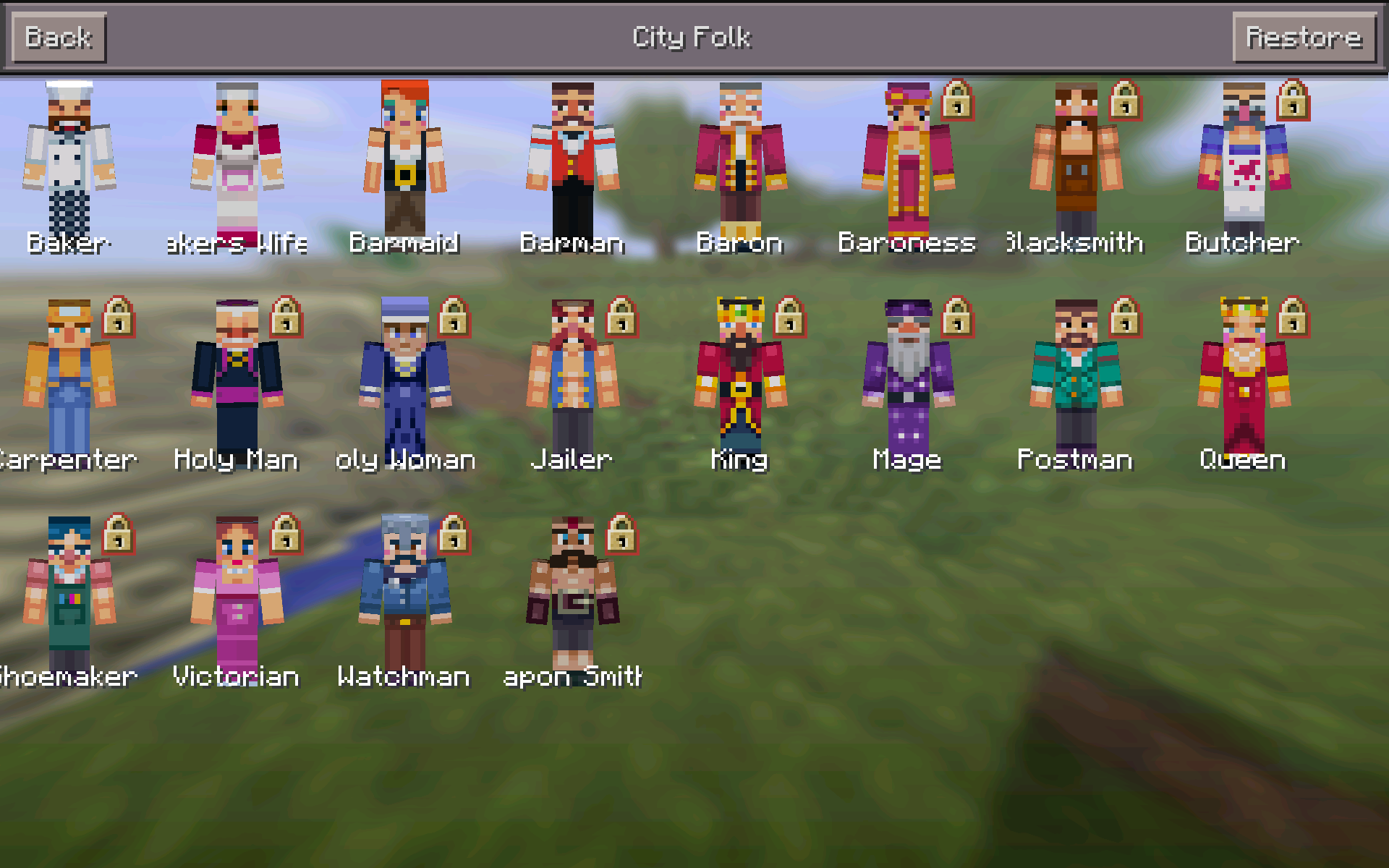 Minecraft News On Twitter MCPE NEWS Skin Packs Are Now Added In - Skins para minecraft pe 0 15