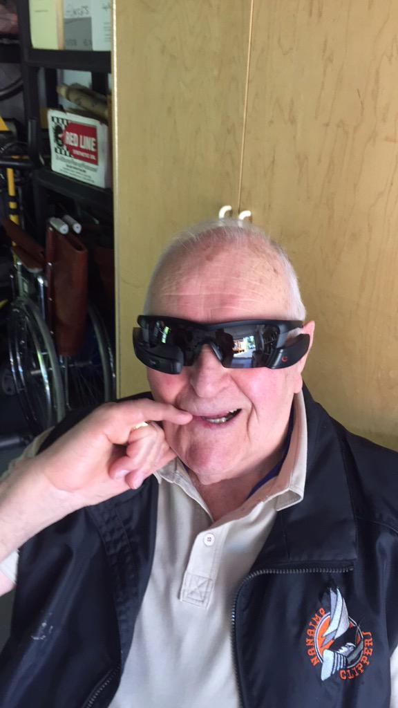 My Grandad is cooler than most...😎 @Recon http://t.co/MZN5X76A0J