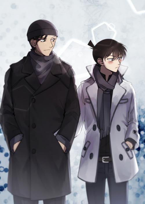 "Akai Shūichi on Twitter: ""Akai Shuichi + Shinichi Kudo.  http://t.co/DD5oKvhVOY"""