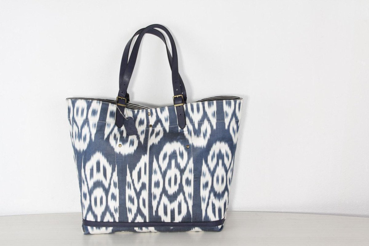 And Fine Leather Https Www Etsy Listing 209991360 Size Ikat Bag Handmade From Navy Utm Source Etsyfu Medium Api Campaign