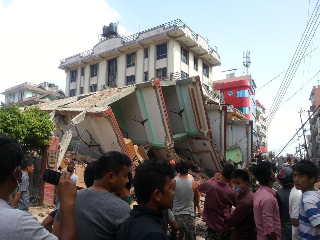 Dozens dead after another major earthquake centered in Nepal