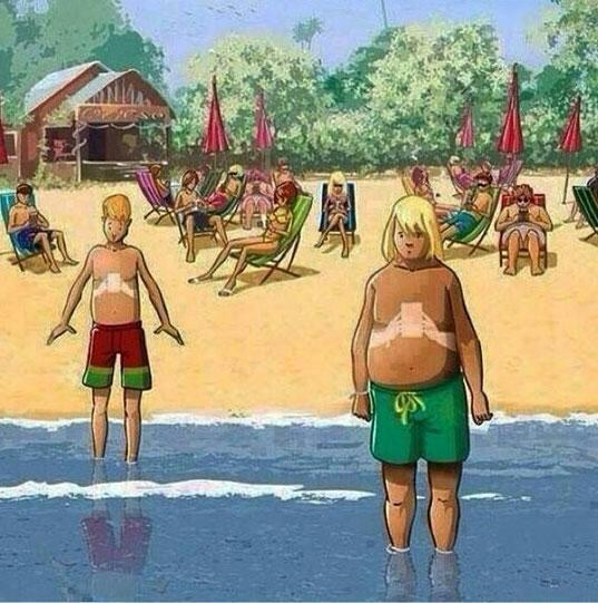 Kijk uit voor Smartphone Tan Syndrome deze zomer. http://t.co/2XMy4LPOQ3