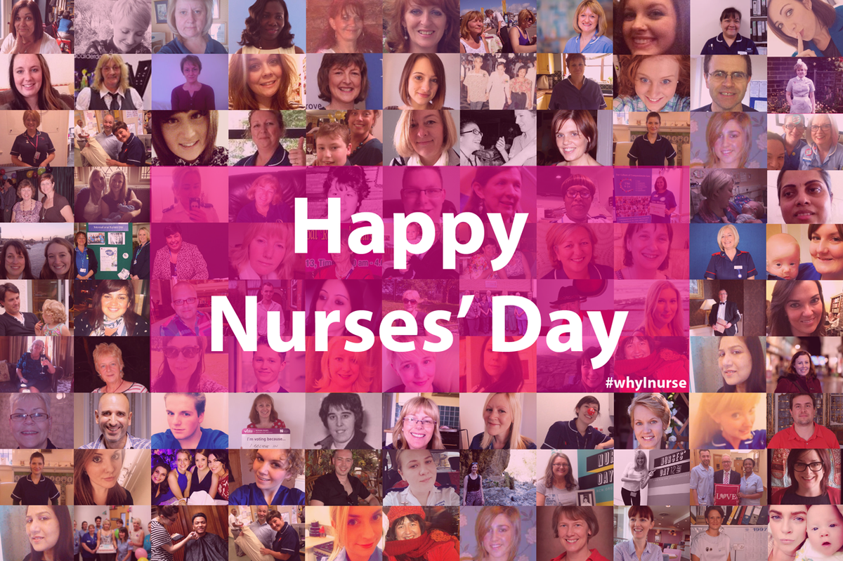 To nursing staff around the world who are there for us every single day - thank you. #whyInurse http://t.co/4rpre16TKN