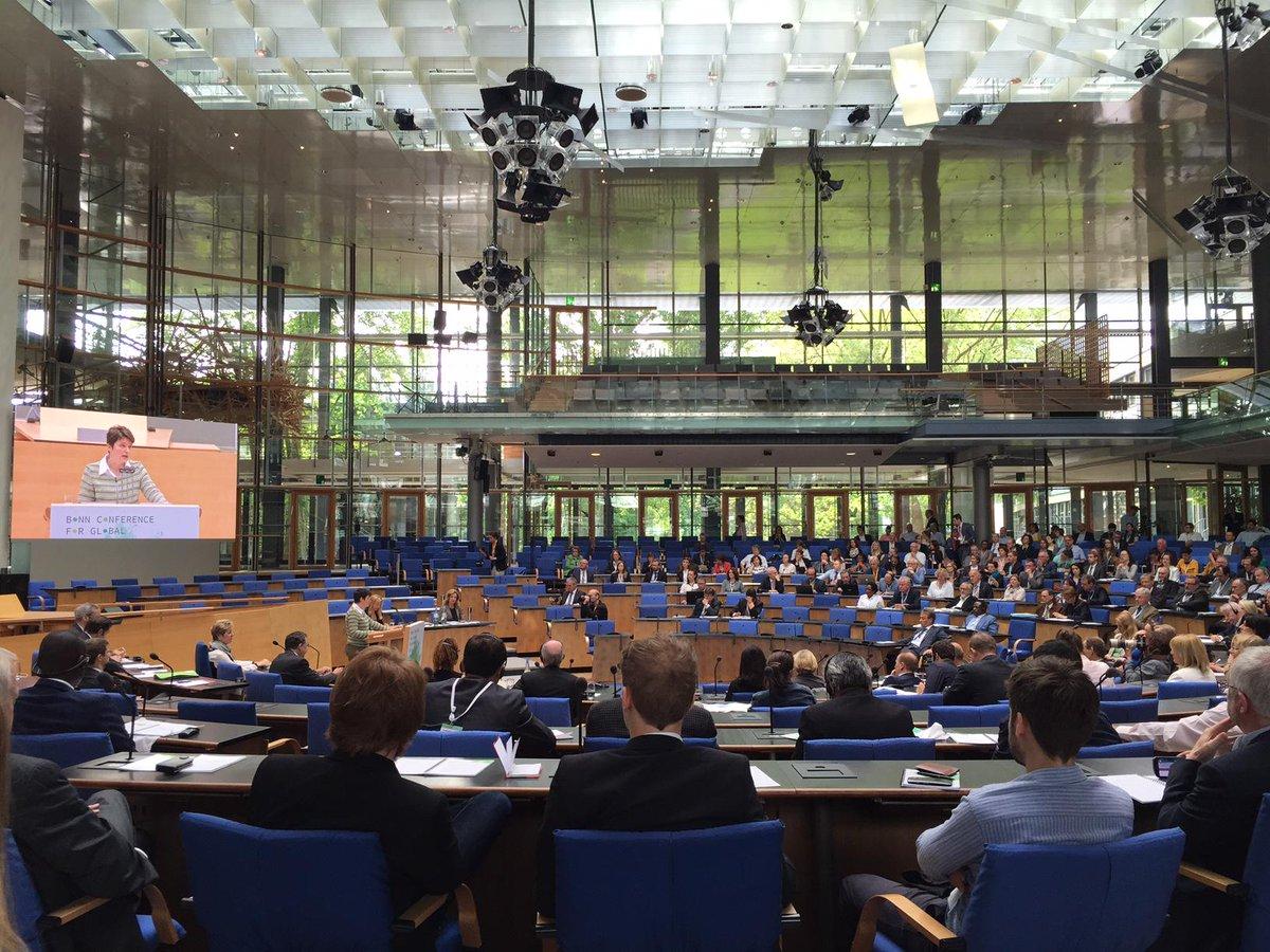 Tanja Gönner @giz_gmbh calls for paradigm shift #BonnConference https://t.co/ugUDuTGlhi @dw_akademie @NachhaltigesNRW http://t.co/A5Hp3E1DMm