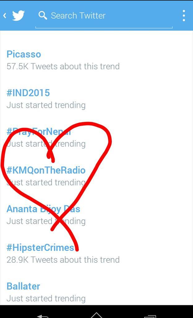 RT @DanielleMcFly11: @NathanSykes trending 😘 #KMQonTheRadio http://t.co/2zmTWt1oVm