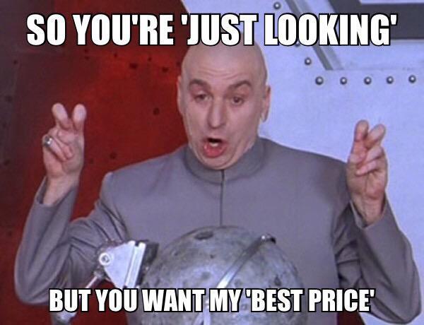 """Car Sales Memes On Twitter: """"#justlooking #bestprice Http"""