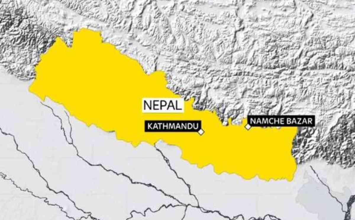 """@SkyNewsAust: The latest #Nepal #Earthquake struck near the base camp for Everest. http://t.co/HTflqWcJ03… http://t.co/eNDv34fyON"""