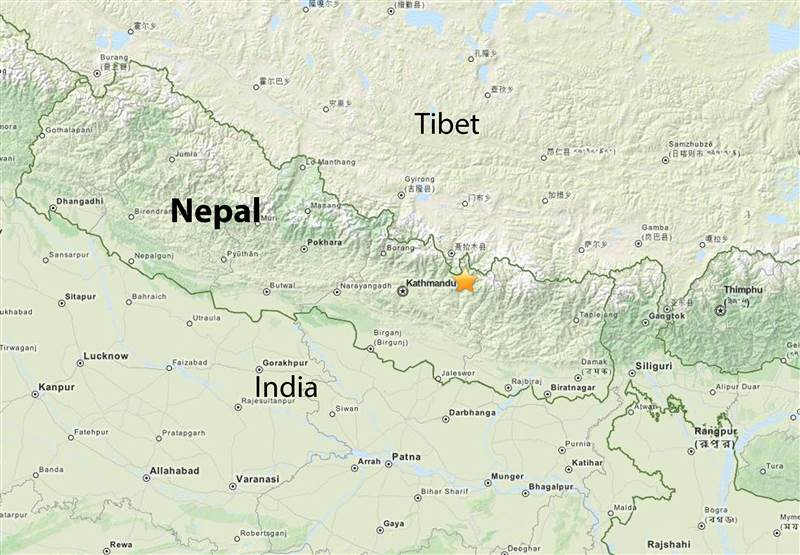 Nepal hit by 7.4-magnitude earthquake; panic reported in Kathmandu  http://t.co/65G1xzQkD9 http://t.co/fZIRsKKwyr