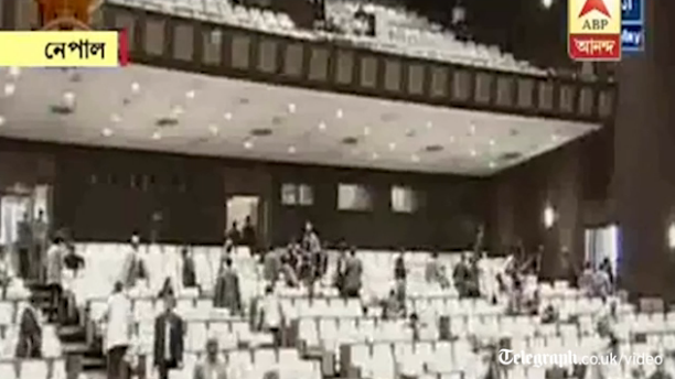 Video: Politicians flee #Nepal parliament as new earthquake strikes http://t.co/s9pNOpk3Uo http://t.co/mxjDmTQBtc