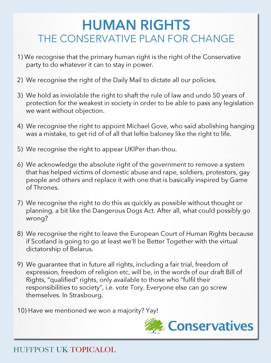 The proposed Tory replacement for the Human Rights Act in full. (done for @huffpostukcom) http://t.co/2J1FCVyNsQ #HRA http://t.co/hGsAerb3sX