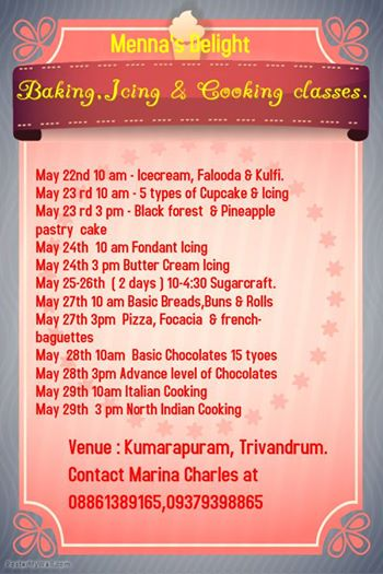 Cake Making Classes In Kollam : Biju charles (@1morecofe) Twitter