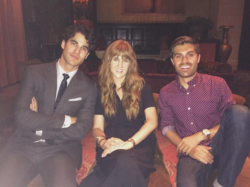 We celebrated our partner @DarrenCriss & @hedwigonbway with @louboutinworld & @goodmans last night. Congrats Darren. http://t.co/vedMugZ8So