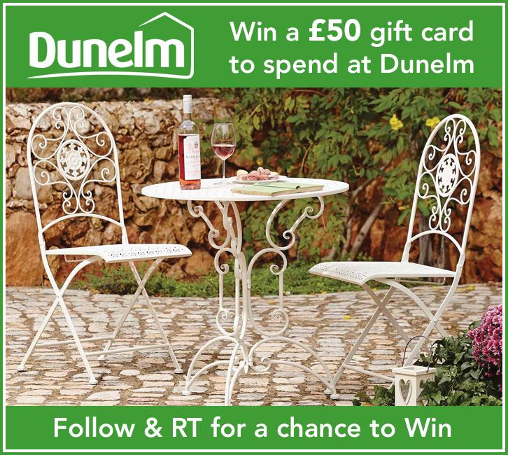 Follow & RT to #WIN a £50 gift card to spend at @DunelmUK!  PLUS get 3% back for your kids - http://t.co/4w8DzzcPqm http://t.co/Q0PwM6lbCh