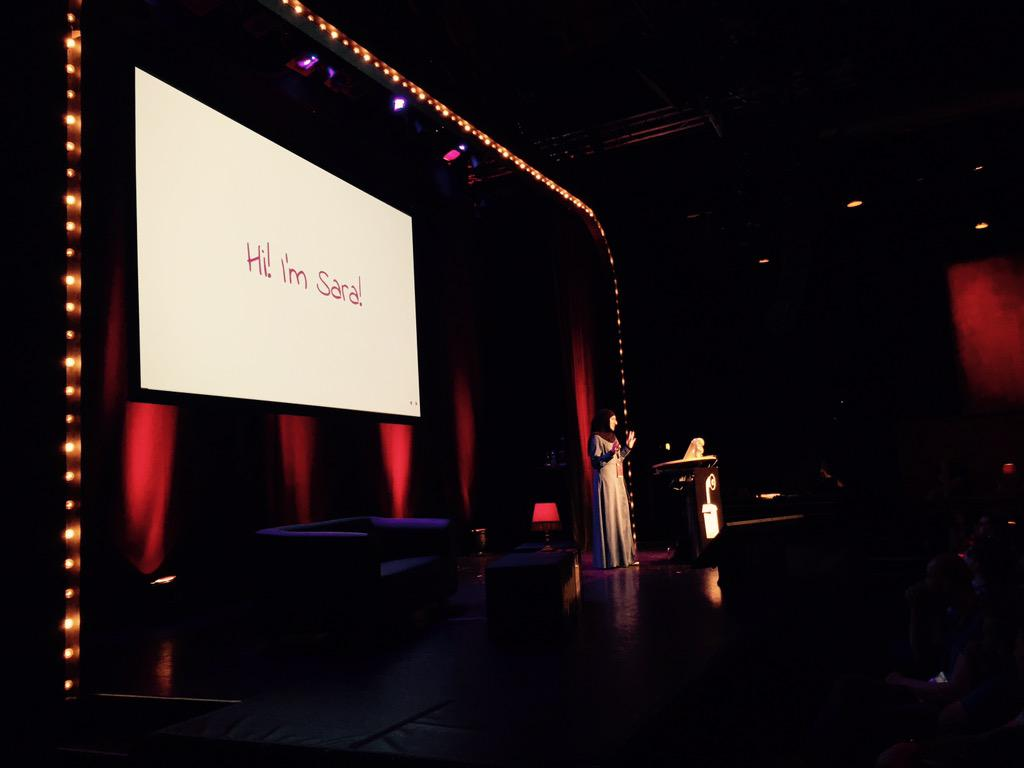 Can't beat these impressions at #btconf /   @SaraSoueidan http://t.co/OJr1iwZdEf
