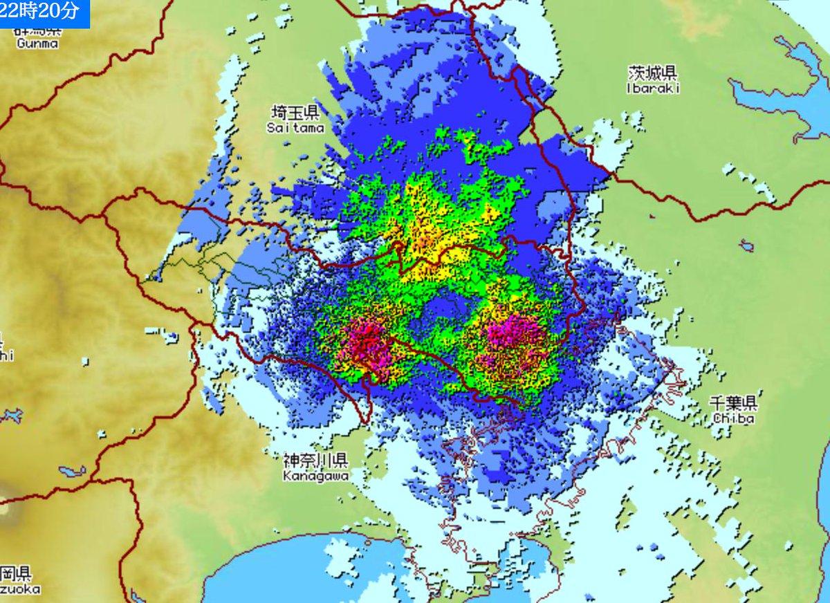 東京の上空に3混合のGMMが出現している... http://t.co/MNhEWhpoNq