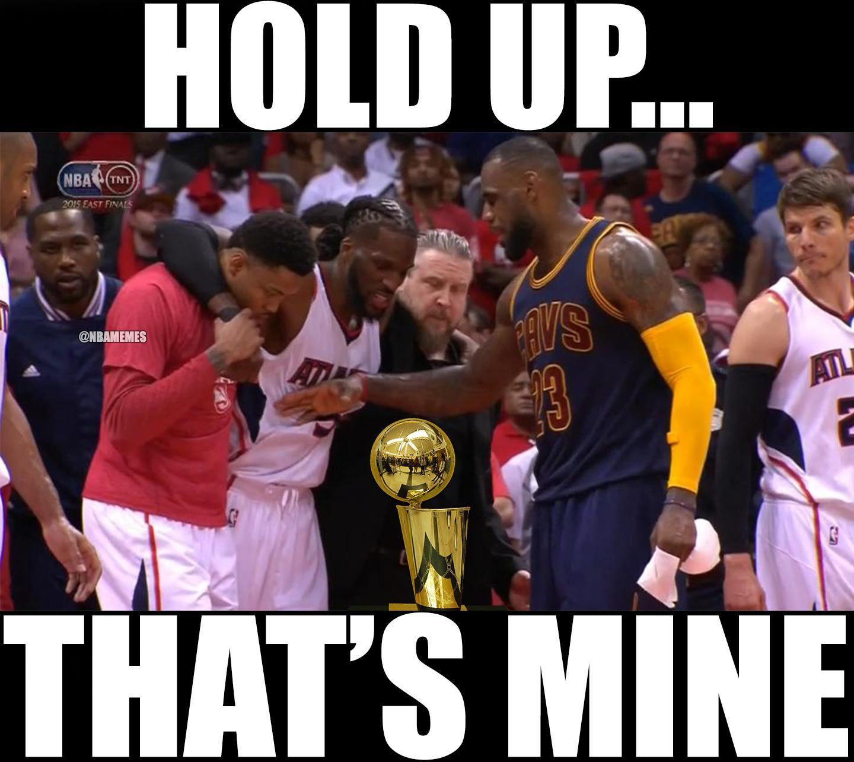 "NBA Memes On Twitter: ""LeBron James To The Atlanta Hawks"