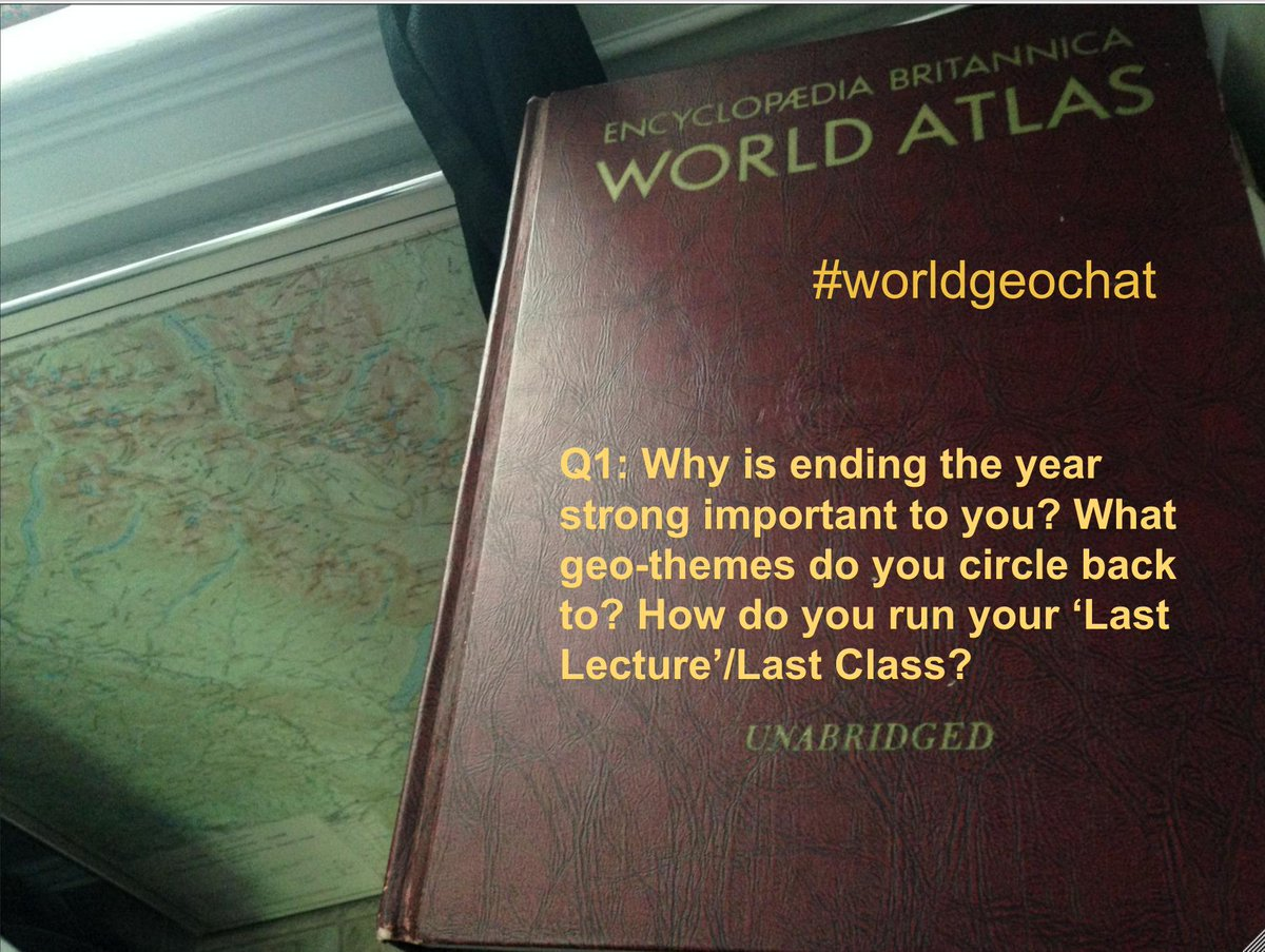 Thumbnail for #worldgeochat - End the Year Strong