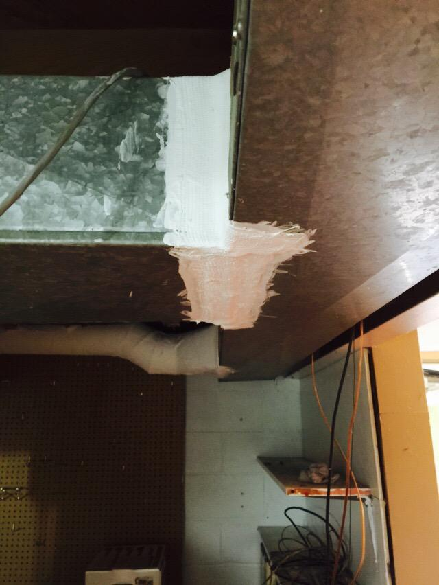 Asbestos Encapsulation Rochester Ny Rochesterenv Duct Seam Tape Now Safe And Not Falling Apartpic Twitter Kvx2wv17fu