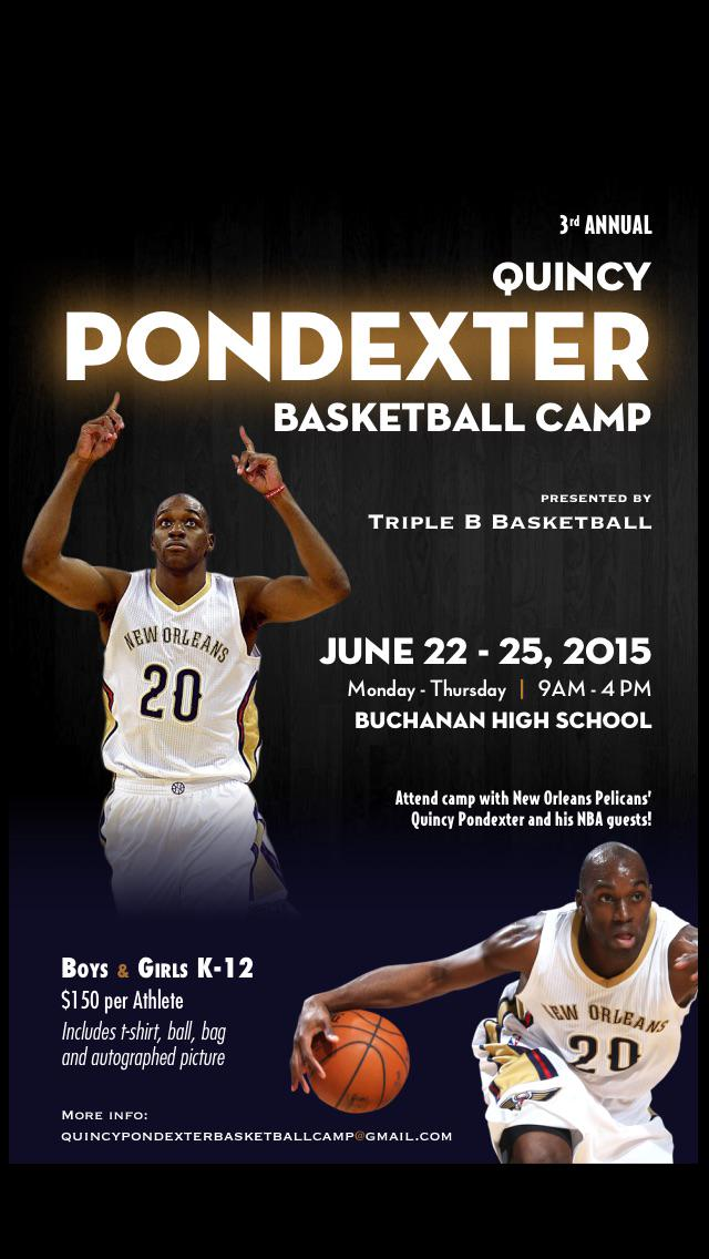 Sign your kids up today for @QuincyPondexter  camp! http://t.co/orlxiK7rPN http://t.co/mdgO5CF8QS