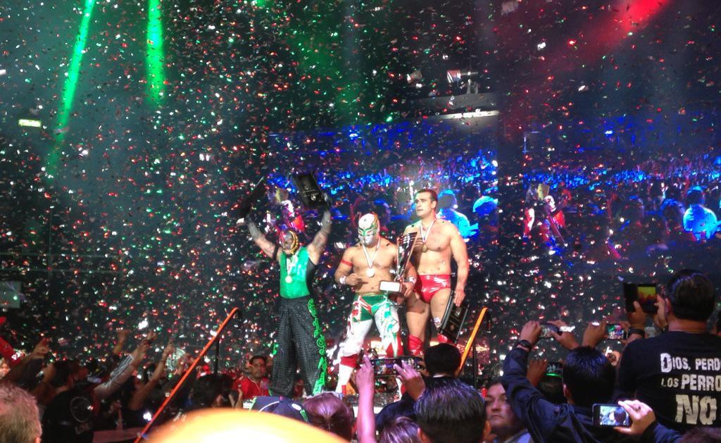 AAA Lucha Libre World Cup 2015