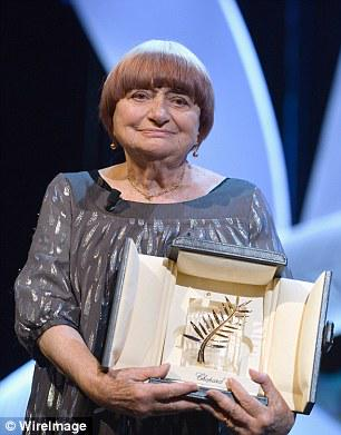 "Loving Agnes Varda & her Palme d'Or; & her 'A little less thanks, and a little more money!"" http://t.co/ZcFIx9oBUn http://t.co/nfnGn9zCO4"