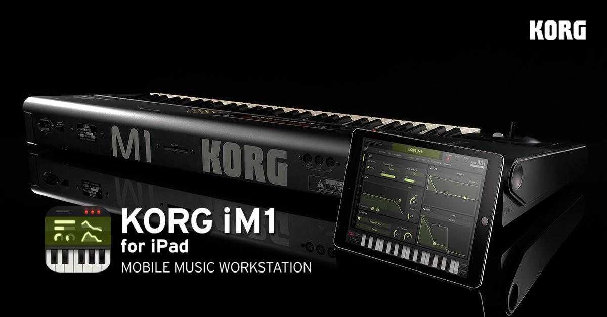 時代を切り拓いた伝説の名機を完全再現。 iPad用モバイル・デジタル・シンセサイザー「KORG iM1 for iPad」発売開始! http://t.co/yEXBucN0g7 http://t.co/tofEPHiaSW