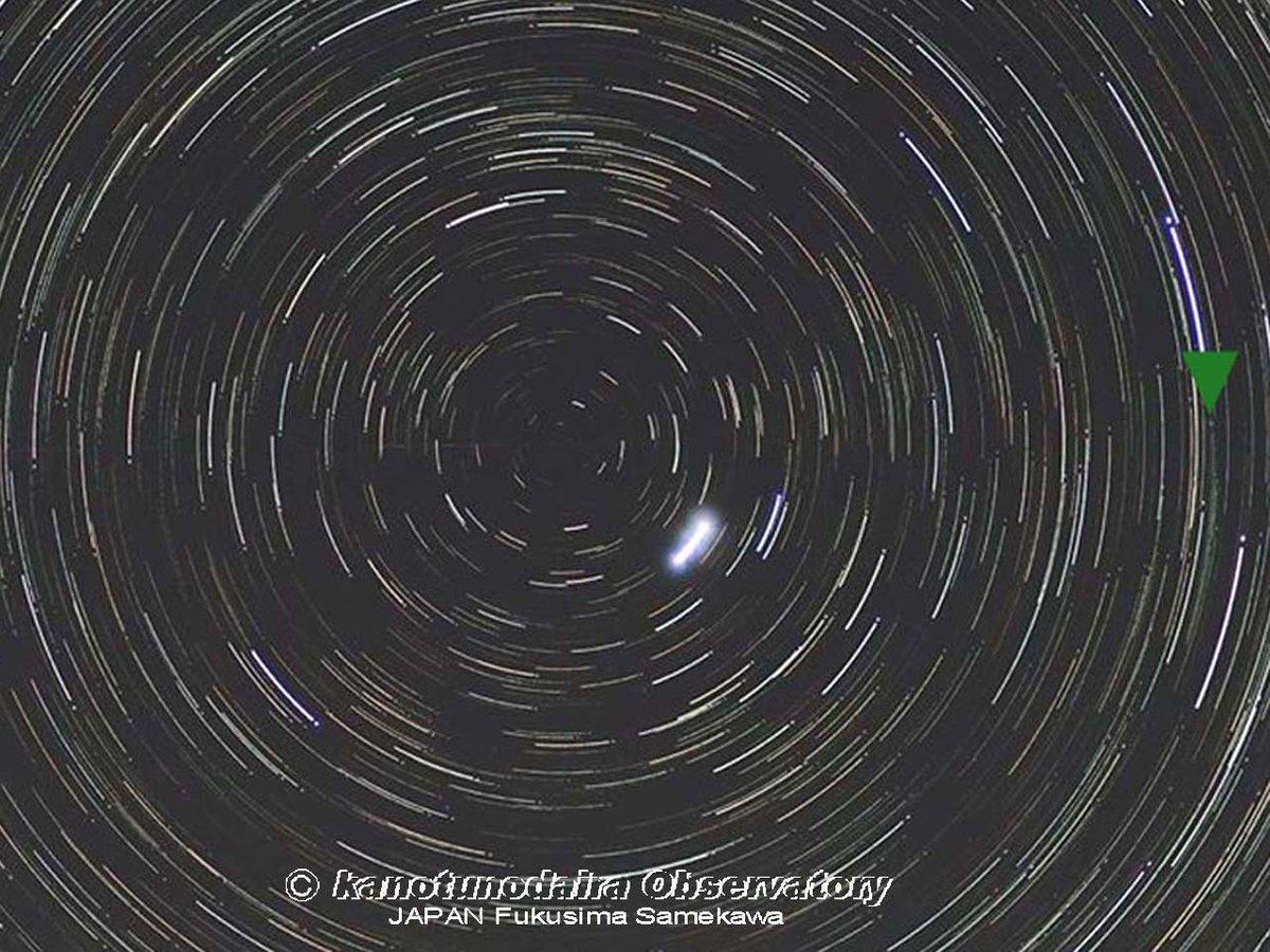 北極星に近づくラブジョイ彗星。