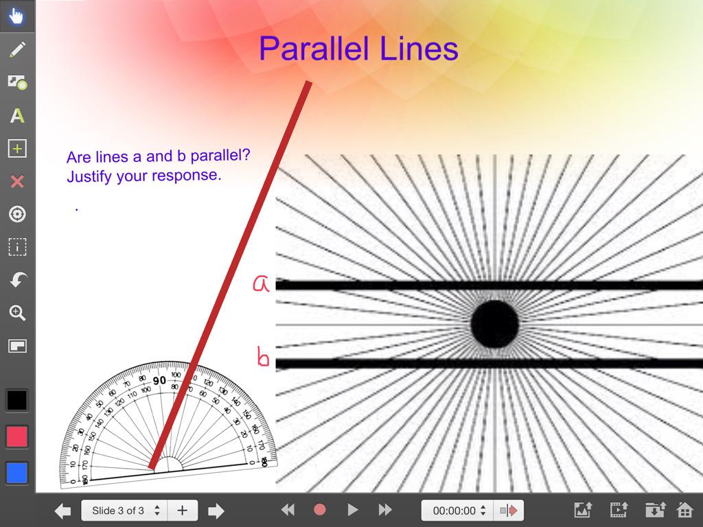 how to make parallel lines