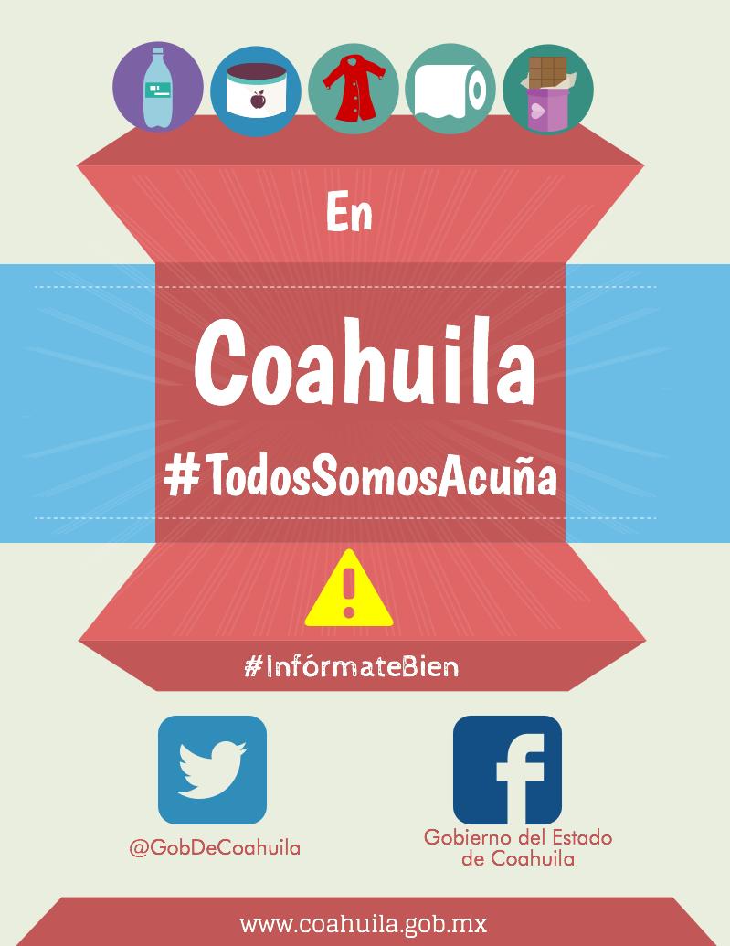#Alerta En Coahuila #TodosSomosAcuña ¡Ayúdanos a ayudar! #Acuña http://t.co/UZFcJBE26n