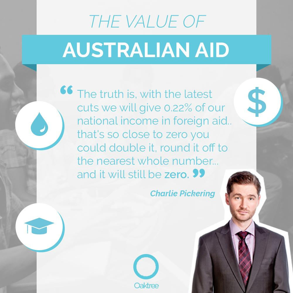 "Is cutting #AustralianAid to our lowest levels ever part of a ""fair"" budget? http://t.co/Cj4tGRBoEz #QandA http://t.co/LVddWrhZzv"