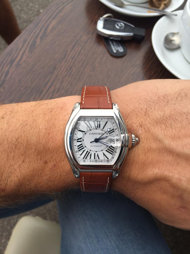 Thanks to @scottkendrick7 for my new watch! All follow, best in the business #kendricksons http://t.co/KP4DgiNThD