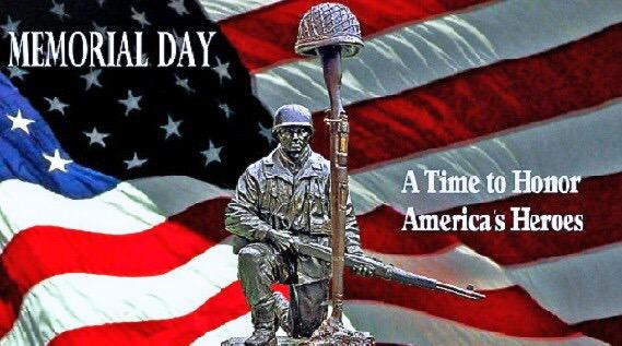 Thank you to the men and women who have served our country. All gave some, some gave all. #MemorialDay #merica