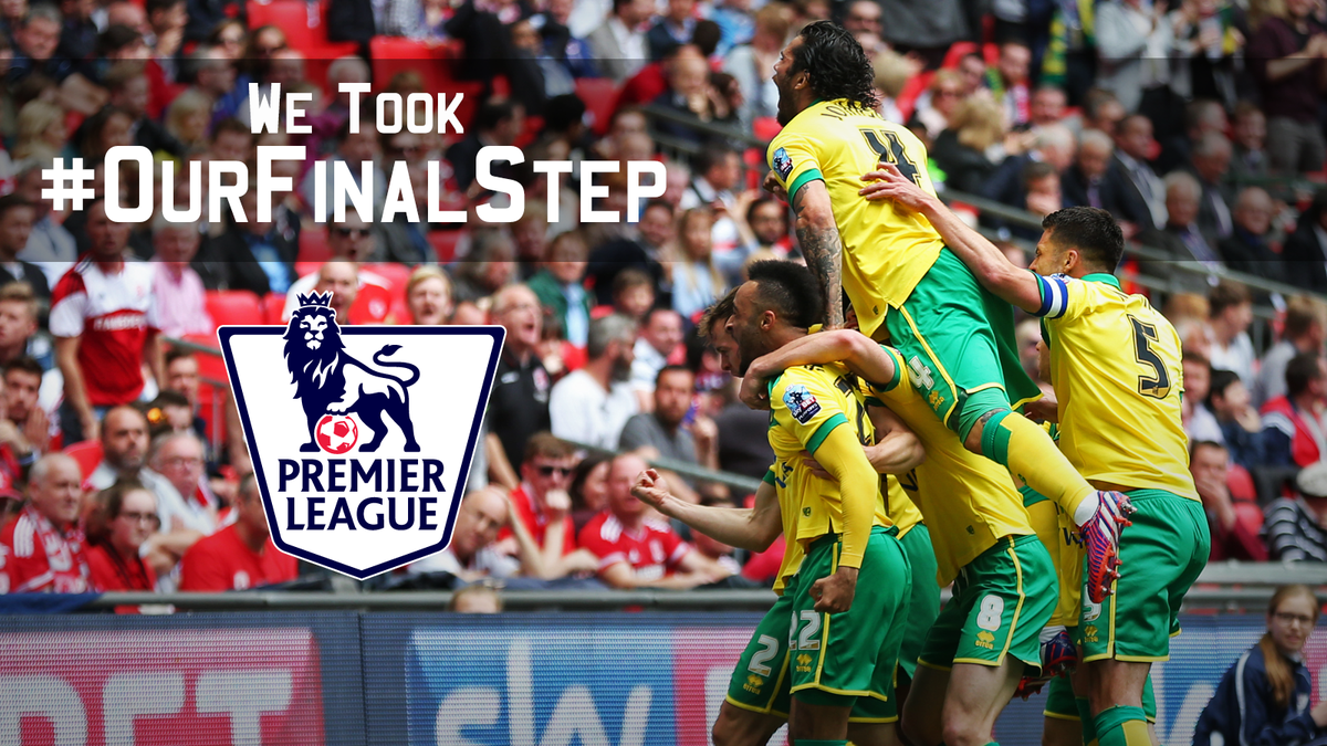 THAT'S IT! WE'VE DONE IT! WE'RE GOING BACK TO THE PREMIER LEAGUE! #OurFinalStep http://t.co/RjghbqG9xs