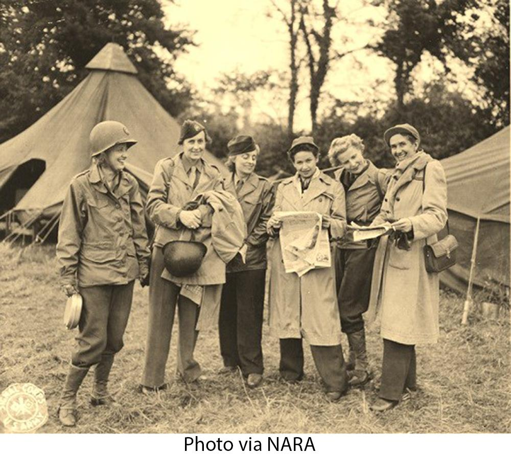 Group of Women War Reporters, 1944 http://t.co/Md4QqO8M9P