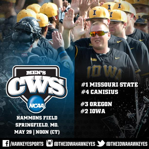 #Hawkeyes in NCAA field for first time since 1990.  #Hellerball #B1GBaseball http://t.co/h1uKZpl42v
