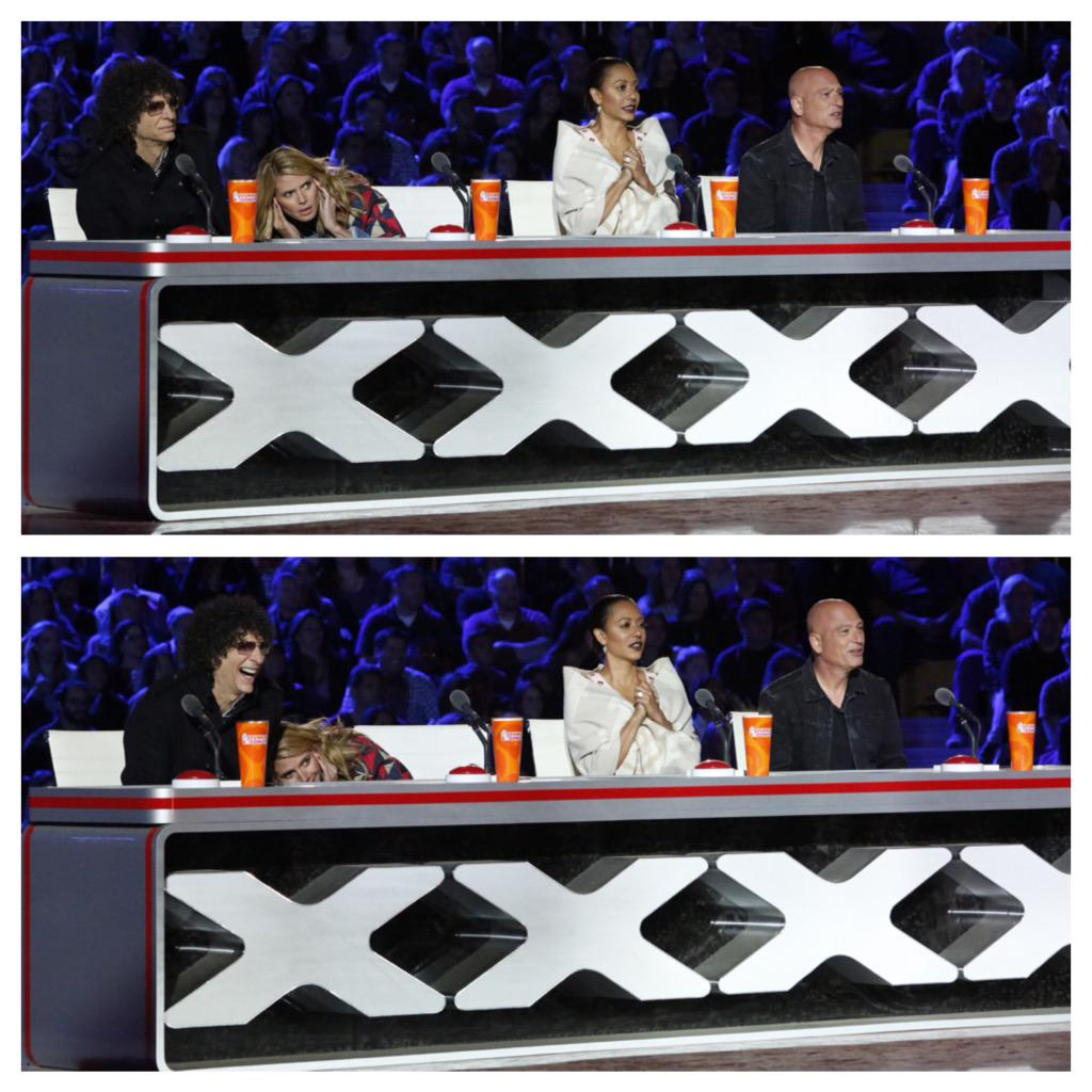 Extreme auditions are really scary for me on @nbcAGT!  #AGT is back tomorrow! http://t.co/B555vIiFjR
