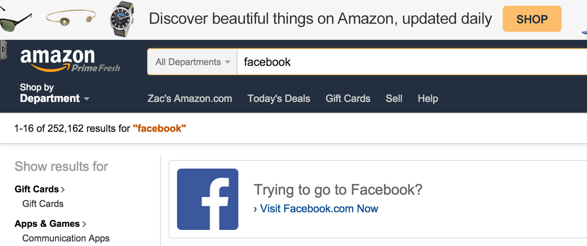 I wonder how long it took Amazon after watching the logs before they decided to add this feature for clueless users. http://t.co/khQqpwWEZ3