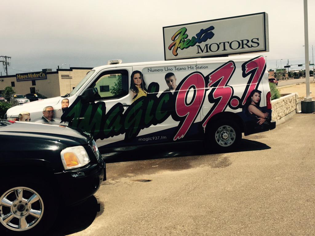 Fiesta Motors Lubbock >> Magic 93 7 Lubbock On Twitter Jake Gonzales Is Live At