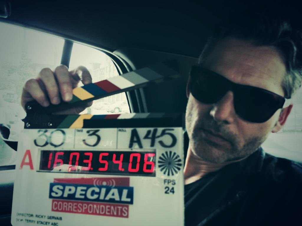 Saving money by making @EricBana67 do two jobs. #SpecialCorrespondents http://t.co/20JcTUKxPa