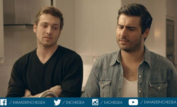 Uh oh. Now Sammy T's a bit #PisteOff too. @AlikAlfus looks gudded more than anything else  #madeinchelsea http://t.co/G5knEab22A
