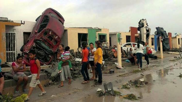 Immagini impattanti su YouTube del Tornado in Messico