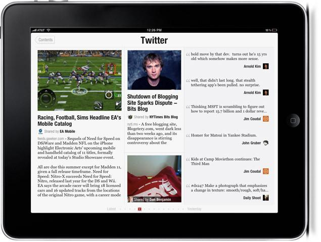 Twitter Has Held Talks to Acquire Flipboard  http://t.co/5gb9TvKSPm http://t.co/wuOUlkWJbi