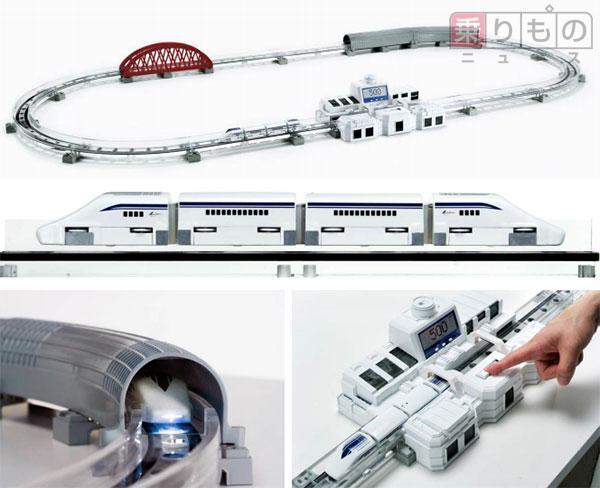 世界初、量産模型でリニアの磁気浮上走行を実現 最高速度も500km/h相当 タカラトミーtrafficnews.jp/post/40419/ pic.twitter.com/clRVsFoT13