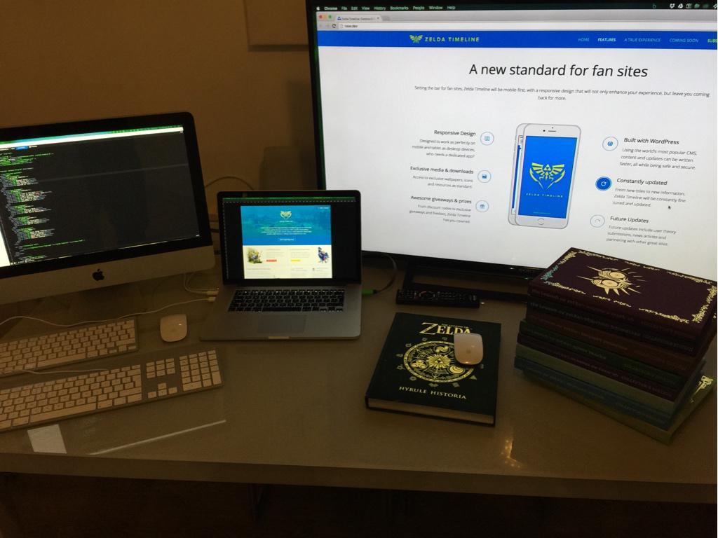 I think I'm all set for working on @zelda_timeline ;) http://t.co/fvP2ZYU92u