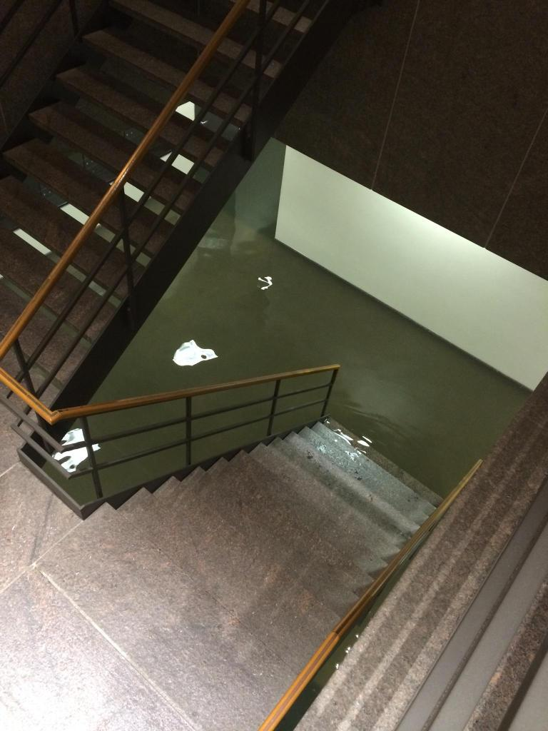 #abc13eyewitness  the basement of Three Riverway, in the galleria. #TexasFlood http://t.co/KTia3LEb8J