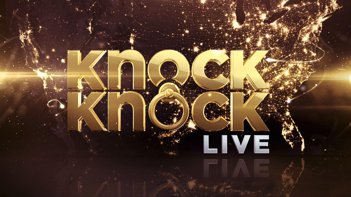 We're launching a new show called #KnockKnock Live on @FOXTV and urs truly is hosting :) http://t.co/L4nRMdiAsO
